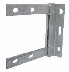 6inch x 6inch Welded Steel Wall Bracket Galvanized