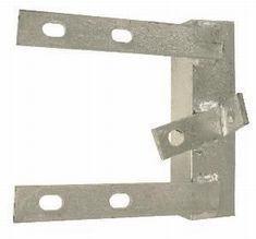 STAND OFF WALL CORNER POLE BRACKET 6inch