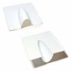 Plastic Blast Cover WHITE