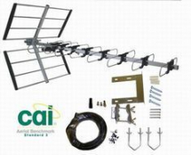 48 Element.12dB. DIGITAL aerial. CAI Benchmarked Kit