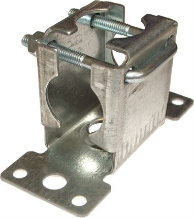 Pressed Facia Bracket Including Clamp