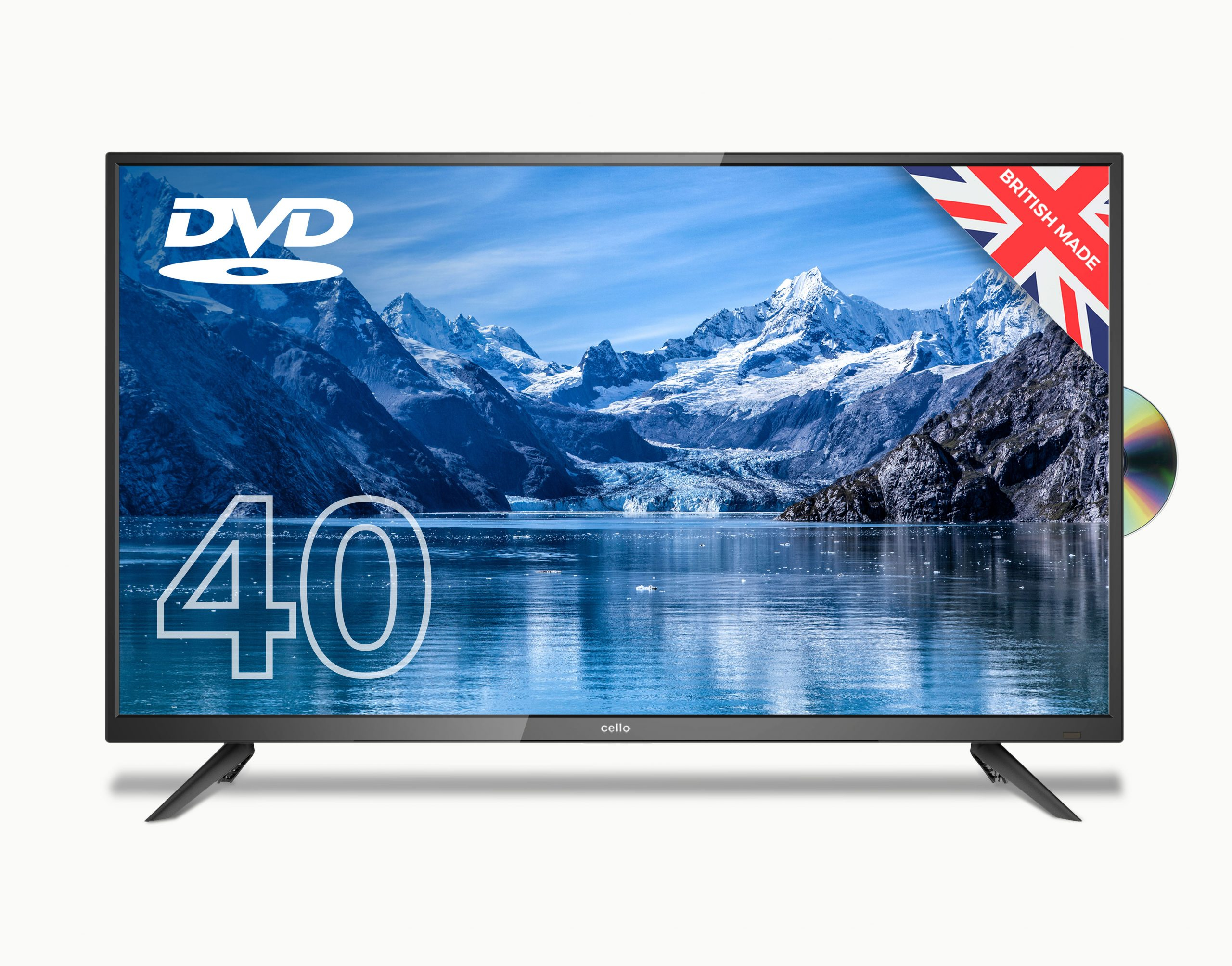 Cello 40 Inch Full HD TV with Freeview & DVD