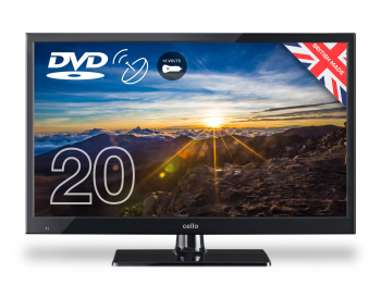 Cello 20Inch 12v LED TV With DVD Freeview HD 12V & 240v