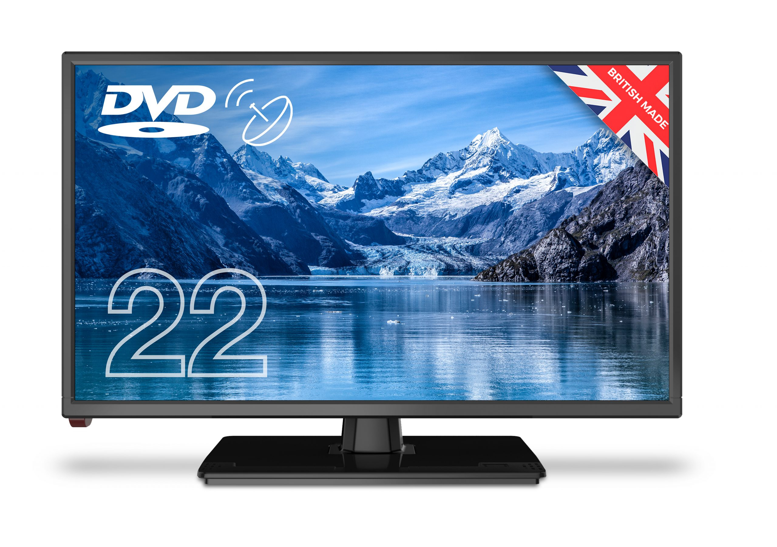 Cello 22inch 12v & 240v LED HD TV With DVD 12V Lead Included