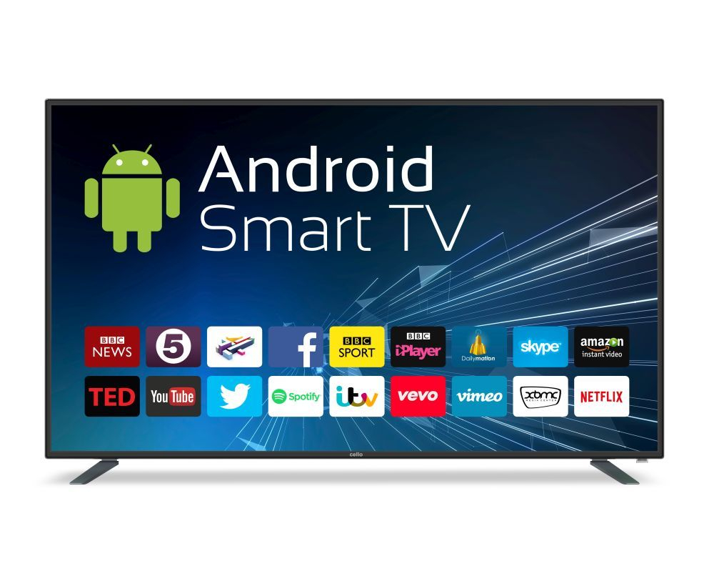 Cello 75inch Android Smart 4K Ultra HD LED TV C75ANSMT-4K