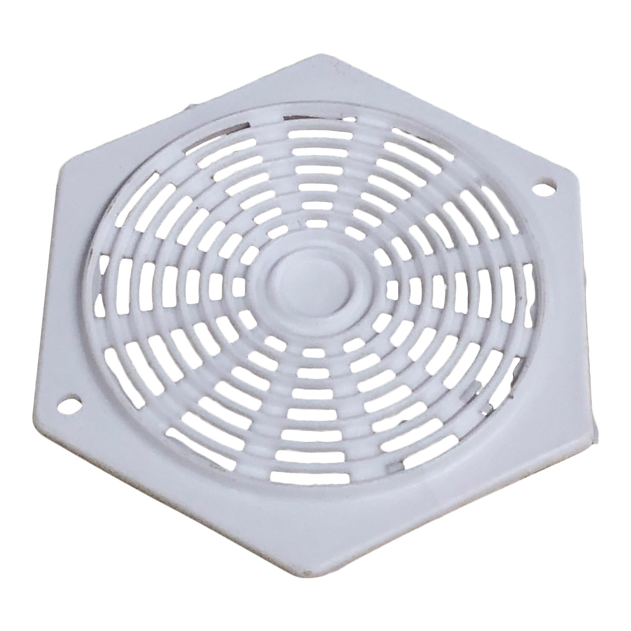 Hexagon Ventilator - White
