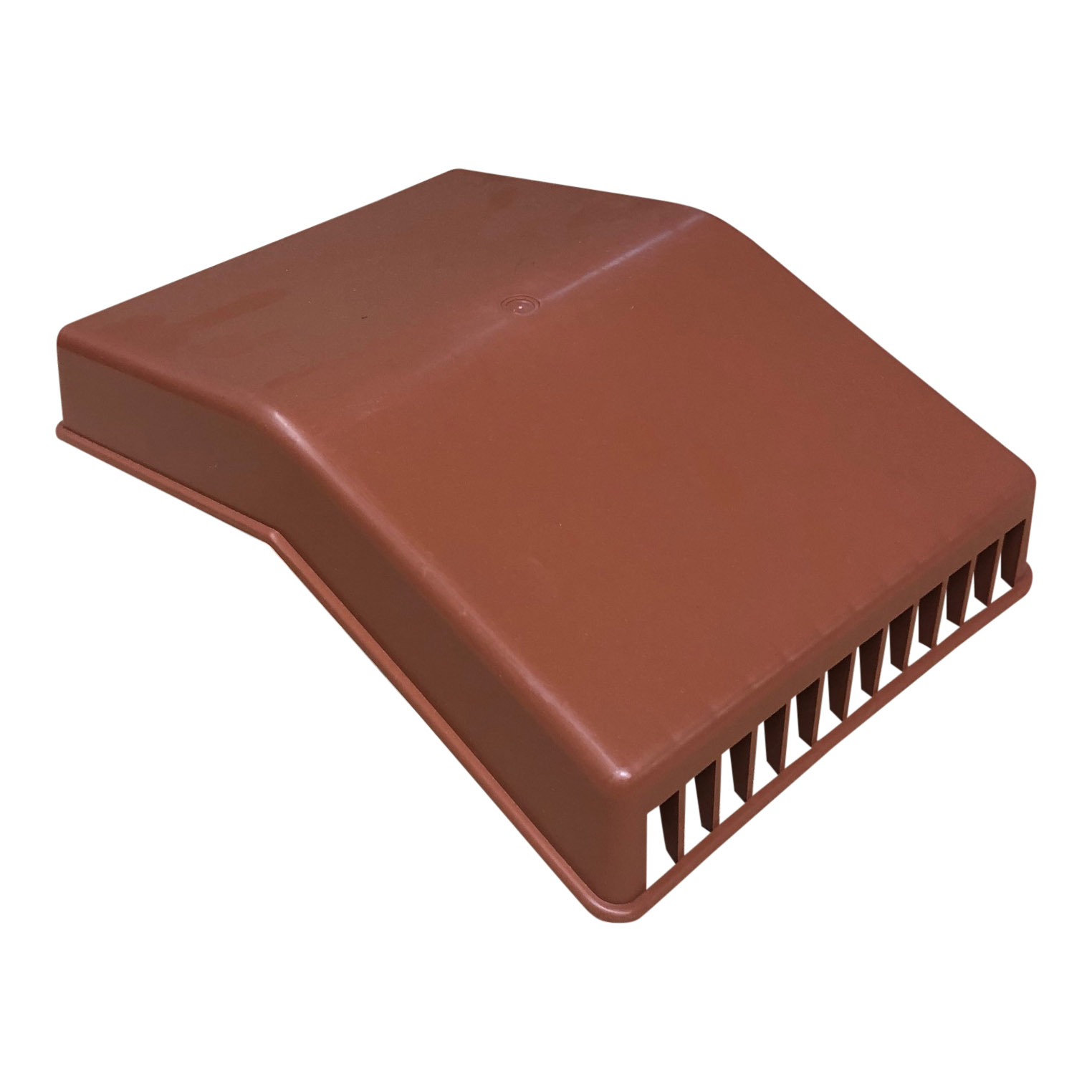 Ridge Roof Cowl Top - Terracotta