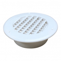 Round louvered vent 2000sqmm White