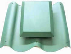 Caravan Pantile Roof Vent in Green