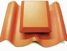 Caravan Pantile Roof Vent in Terracotta